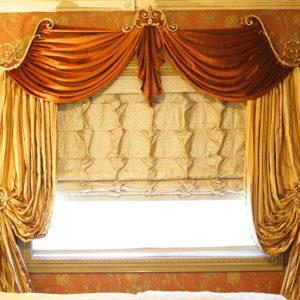 Дизайн римских штор